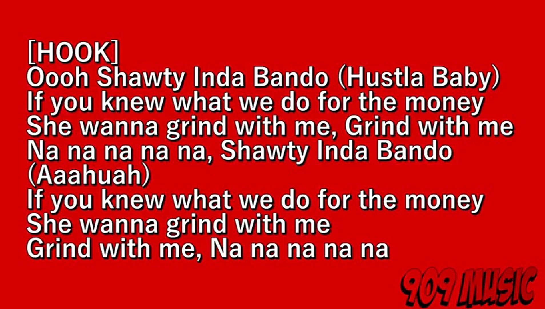 J Hus - Shawty Inda Bando FT. Baseman [Lyrics]