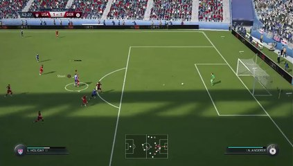 FIFA 16 Women's Funny Goal