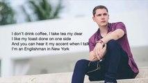 Cris Cab ; Englishman in NewYork