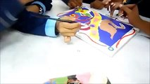 Team art therapy  - madhubani painting by 14 year olds