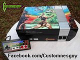 Custom Castlevania themed NES + control, Kawasaki Xbox1 control, Kickle Cubicle NES control control