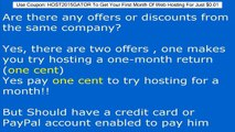 HostGator latest Coupon Code 2015 - Maximum Discount Coupons 1 cent & 25% off coupons