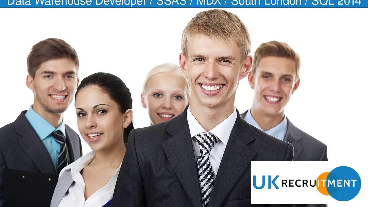 Data Warehouse Developer / SSAS / MDX / South London / SQL 2014 Job In Croydon,_UK