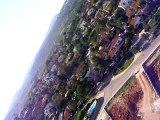 vuelo desde helicoptero rc hirobo zxx camara