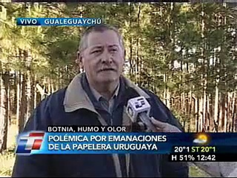 crisis entre argentina y uruguay por la pastera botnia