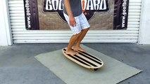 GoofBoard - Rail-2-Rail Balance Board for Surfers