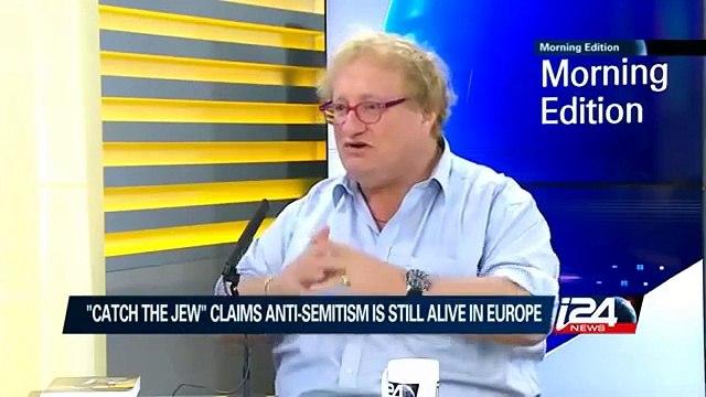 Interview Heats up between Tuvia Tenenbom and Yael Lavie of i24 News