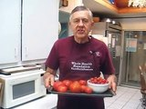 Tomato juice- Two methods to get maximum yield on a WHF juicer.  A Norwalk juicer alternative.