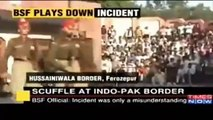 Fight At Husseniwala Border Between Pakistani Solider and Indian Army Solider