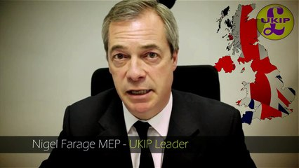 Nigel Farage, a personal message to Northern Ireland voters.