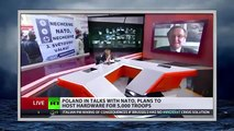 US mulls tanks, heavy weapons in E. Europe & Baltics