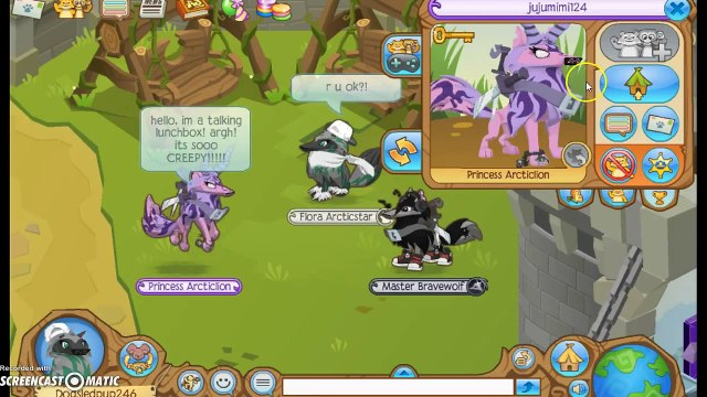 funny but weird person on animal jam: so much laughing!