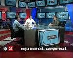 Dezbatere la emisiunea Talk Soc despre Roşia Montana cu Claudiu Craciun - partea a V-a.avi