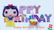 Happy Birthday Song Snow White Princess   Nursery Rhymes Songs for children