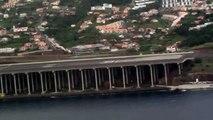 Aterragem A330-200 Aeroporto Madeira 22-11-09, landing at Madeira Airport Atterrissage à Madère
