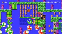 Super Mario Maker : Fish Super.