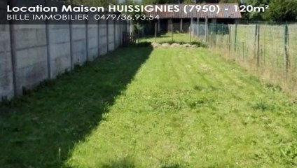A louer - Maison - HUISSIGNIES (7950) - 120m²