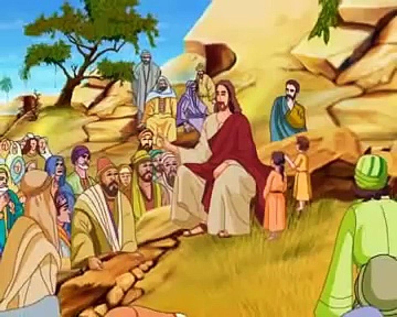 Bible stories for kids - Jesus heals the Leper ( Malayalam Cartoon  Animation )