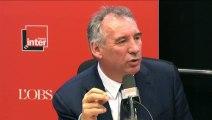 """François Bayrou : """"Il n'est pas prudent de dire que seuls les pays occidentaux pourront intervenir au sol"""""""