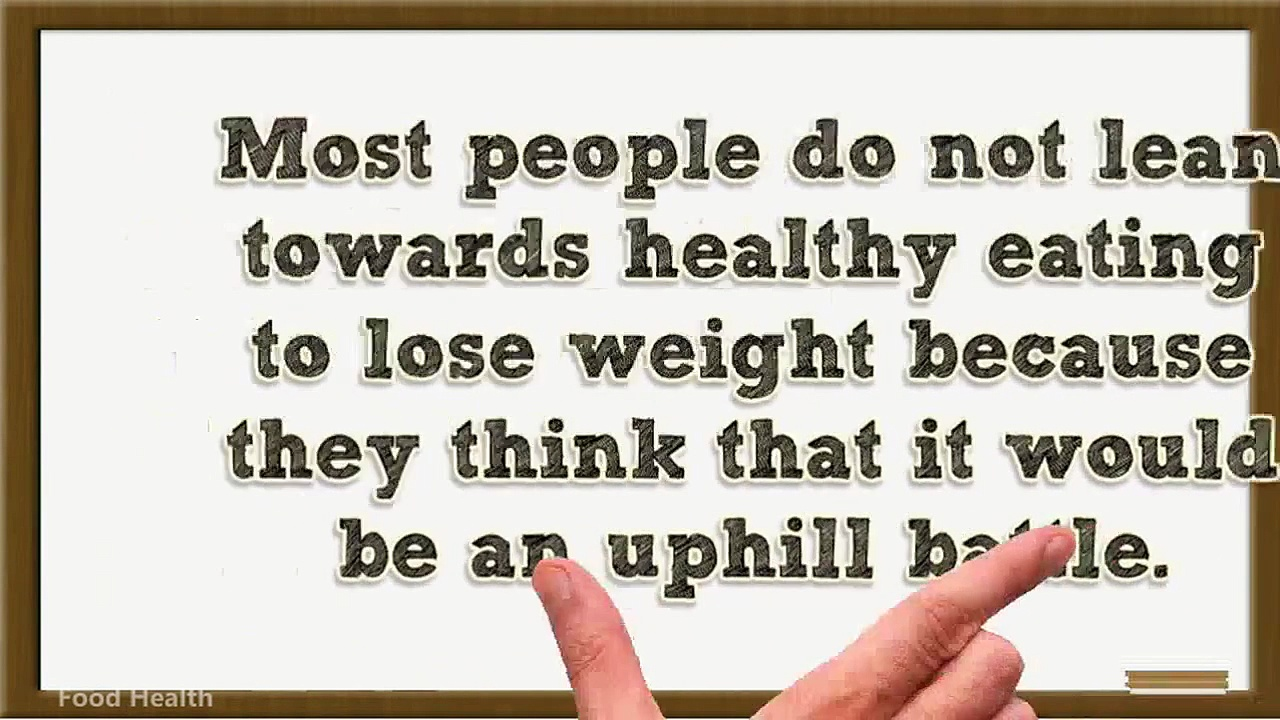 Healthy Eating to Lose Weight – Healthy Foods For Weight Loss