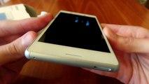 Sony Xperia M4 Aqua   Unboxing video