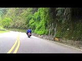 Falling Rock Almost Takes Me Out - M13 Close Call