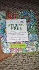 BOOK REVIEW: Color Me Stress-Free by Angela Porter