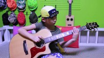 Phunkdified - Justin King (fingerstyle guitar cover by 8year-old kid Sean Song)