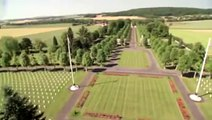 American Battle Monuments Cemetery in Aisne Marne, France