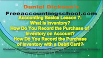 Accounting Basics Lesson 7: Intro to Inventory Accounting