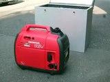 発電機「消音BOX」「静音BOX」試作品 ホンダEU16i HONDA  2009年5月