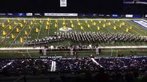 The UNA Pride of Dixie Marching Band at Lucas Oil Stadium 2014 Temptations
