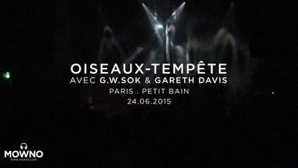 OISEAUX-TEMPÊTE - ÜTOPIYA? release party - Live in Paris 2015