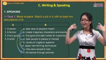Anh văn lớp 12 - Unit 6 - Future Jobs - Writing - Speaking - Cadasa.vn