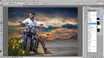 Photoshop Compositing Tutorial   Remove Background with hard light