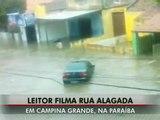 G1   Quebra de barragem alaga rua de Campina Grande, Paraíba   notícias em VC no G12