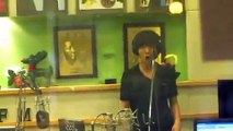 [Yesung fancam] The hyper Yesung singing, dancing & rapping @ Kiss The Radio