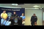 Oakland Police Dogs Get Their Bulletproof Vests