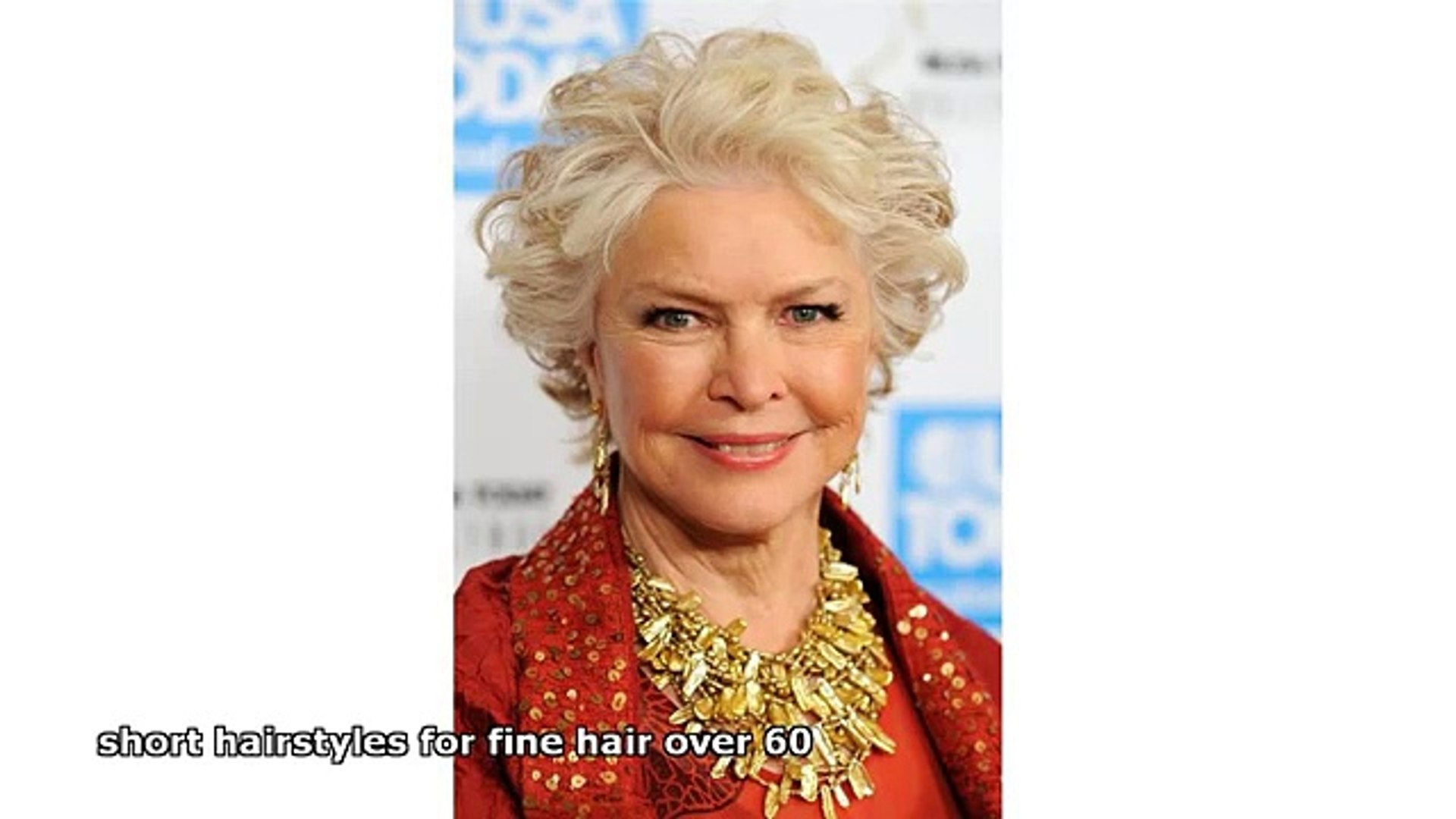 Short Hairstyles For Fine Hair Over 60 Video Dailymotion