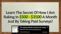 Get Paid to Surveys- Take Surveys for Money