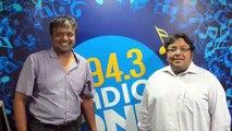 Radio One 94.3 FM Interview of Ashwin Sanghi with Hrishi.K (June 5 2012)