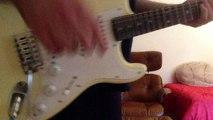 "Imagine Dragons ""Gold"" Detailed Guitar Tutorial Part 1 + Tabs"