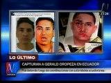 Gerald Oropeza: Policía lo ubicó mientras corría en playas de Ecuador