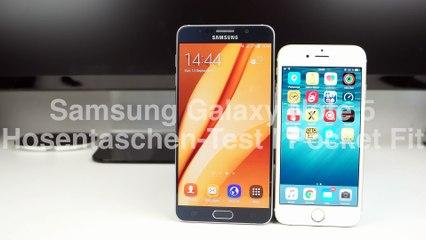 Passt das Samsung Galaxy Note 5 in die Hosentasche?