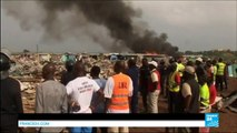 Ghana Clashes Between Police And Protesters After The Destruction Of Their Homes