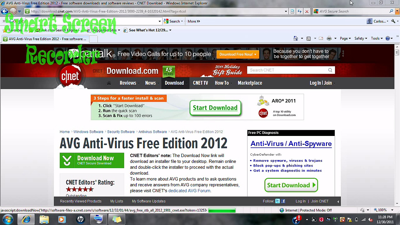 How to get free virus removal & protection free– AVG 2012