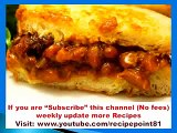 How to Cook Baked Beans Augratin Sandwich with Food Recipes