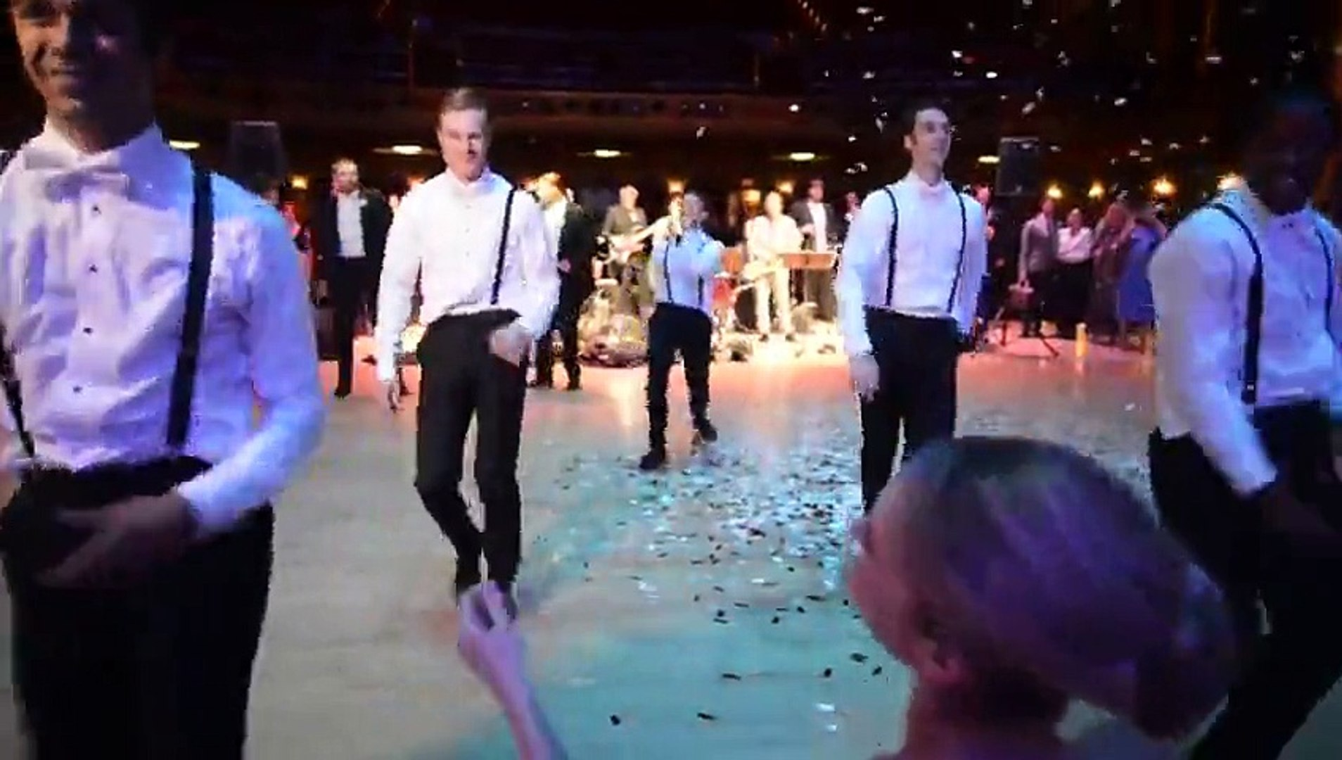Ballerina Wedding_ Surprise Groomsmen Dance