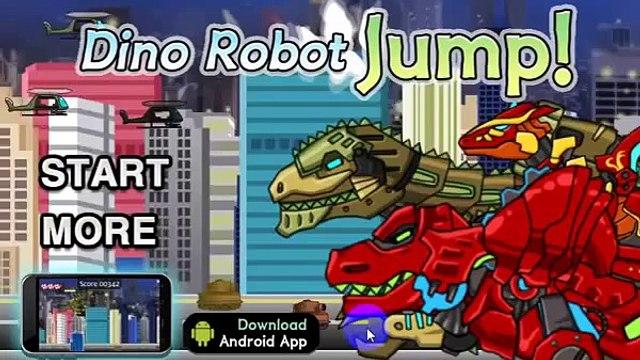 GAME NGƯỜI MÁY BIẾN HÌNH SIÊU NHÂN VÀ KHỦNG LONG  DINO ROBOT JUMP