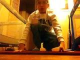 Dancing, dubstep, 9 yr old boy, robot dancing, electric